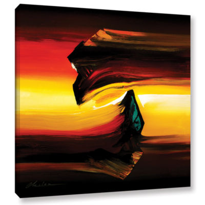 Brushstone Passing By Gallery Wrapped Canvas WallArt