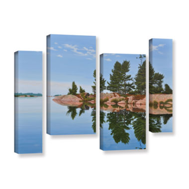 Brushstone Philip Edward Island 4-pc. Gallery Wrapped Staggered Canvas Wall Art