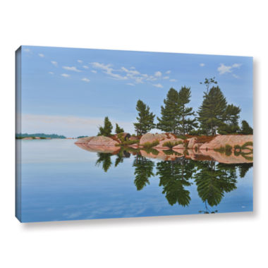 Brushstone Philip Edward Island Gallery Wrapped Canvas Wall Art