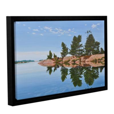 Brushstone Philip Edward Island Gallery Wrapped Floater-Framed Canvas Wall Art