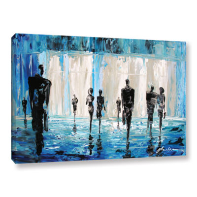Brushstone Perfect Strangers Gallery Wrapped Canvas Wall Art