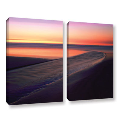 Brushstone Out To Sea 2-pc. Gallery Wrapped CanvasWall Art