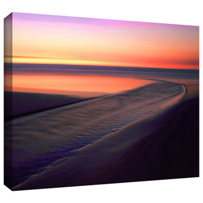 Brushstone Out To Sea Gallery Wrapped Canvas WallArt