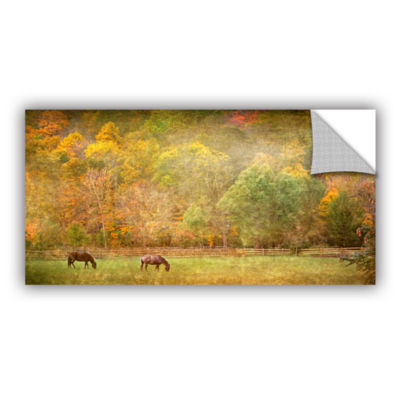 Brushstone Pasture Removable Wall Decal