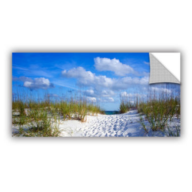 Brushstone Path To The Ocean Removable Wall Decal