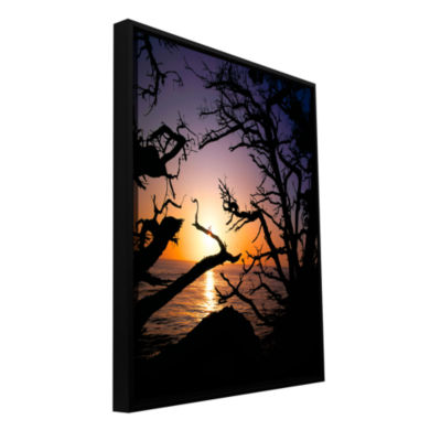 Brushstone Pacific Light Gallery Wrapped Floater-Framed Canvas Wall Art