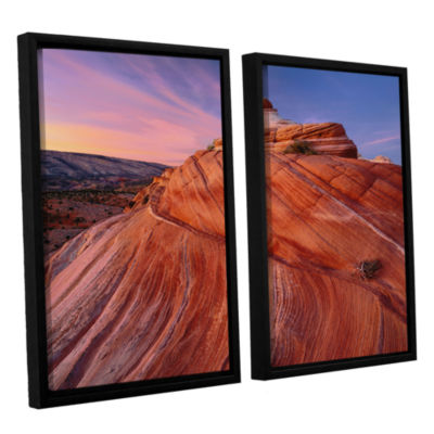 Brushstone Paria Wilderness 2-pc. Floater Framed Canvas Wall Art