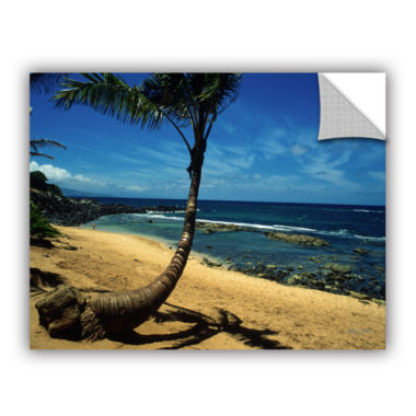 Brushstone Palm Tree In Paradise Removable Wall Decal