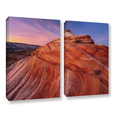Brushstone Paria Wilderness 2-pc. Gallery WrappedCanvas Wall Art