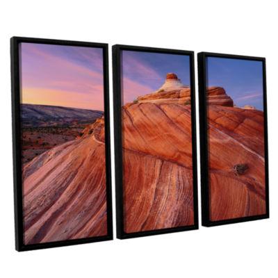 Brushstone Paria Wilderness 3-pc. Floater Framed Canvas Wall Art