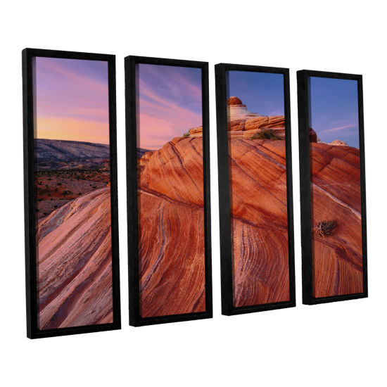 Brushstone Paria Wilderness 4-pc. Floater Framed Canvas Wall Art