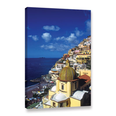 Brushstone Picturesque Positano Gallery Wrapped Canvas Wall Art