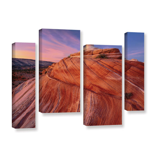 Brushstone Paria Wilderness 4-pc. Gallery WrappedStaggered Canvas Wall Art