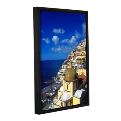 Brushstone Picturesque Positano Gallery Wrapped Floater-Framed Canvas Wall Art