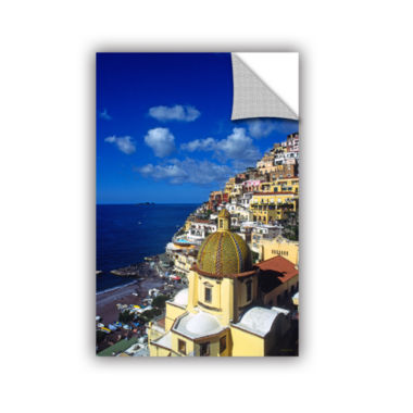 Brushstone Picturesque Positano Removable Wall Decal