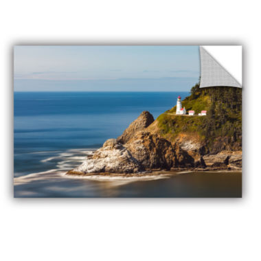 Brushstone Oregon Lighthouse Removable Wall Decal