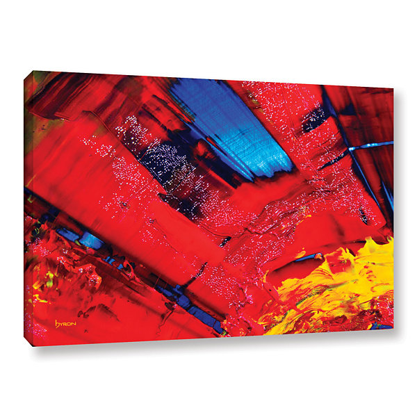 Brushstone Passionate Explosion Gallery Wrapped Canvas Wall Art