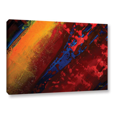 Brushstone Out From The Depth Gallery Wrapped Canvas Wall Art
