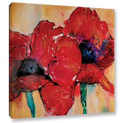 Brushstone Passion Gallery Wrapped Canvas Wall Art