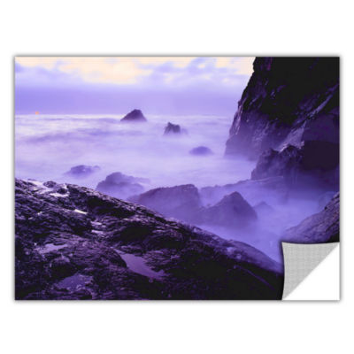 Brushstone Patricks Point Sunset Removable Wall Decal