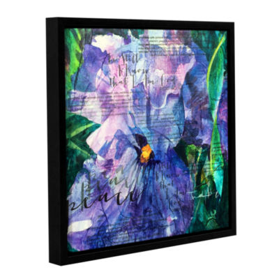 Brushstone Peace Gallery Wrapped Floater-Framed Canvas Wall Art