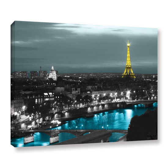 Brushstone Paris Gallery Wrapped Canvas Wall Art