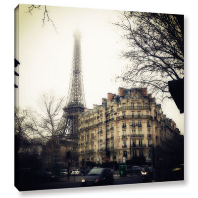 Brushstone Paris Vintage Gallery Wrapped Canvas Wall Art