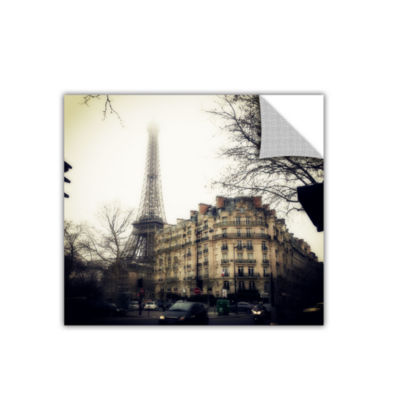 Brushstone Paris Vintage Removable Wall Decal