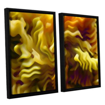 Brushstone Pasta Wave 2-pc. Floater Framed CanvasWall Art