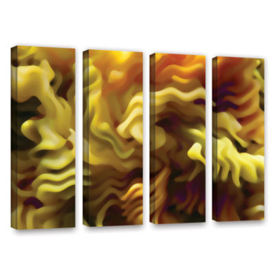 Brushstone Pasta Wave 4-pc. Gallery Wrapped CanvasWall Art