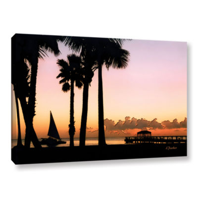 Brushstone Paradise In Nevis West Indies Gallery Wrapped Canvas Wall Art