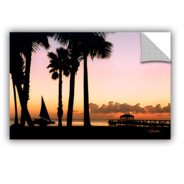 Brushstone Paradise In Nevis West Indies RemovableWall Decal