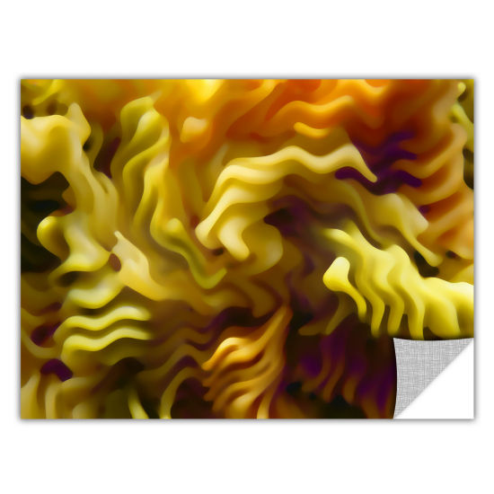 Brushstone Pasta Wave Removable Wall Decal