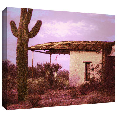 Brushstone Past By The Future Gallery Wrapped Canvas Wall Art
