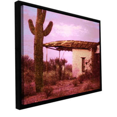 Brushstone Past By The Future Gallery Wrapped Floater-Framed Canvas Wall Art