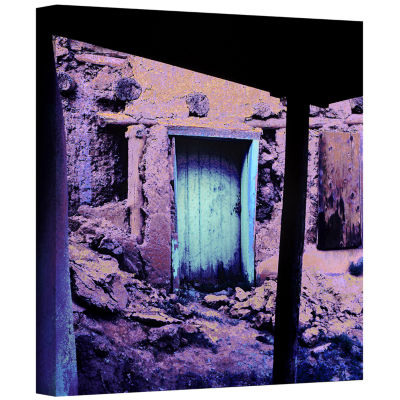 Brushstone Past Through The Door Gallery Wrapped Canvas Wall Art