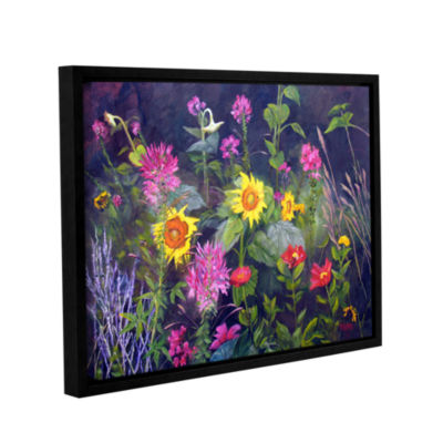 Brushstone Out Of Darkness Gallery Wrapped Floater-Framed Canvas Wall Art