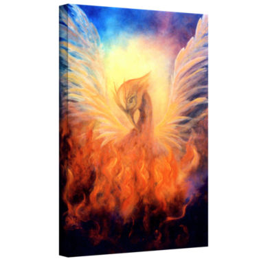Brushstone Phoenix Gallery Wrapped Canvas Wall Art