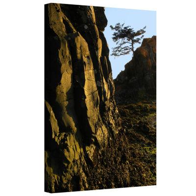 Brushstone Oregon Coast Sunset Gallery Wrapped Canvas Wall Art