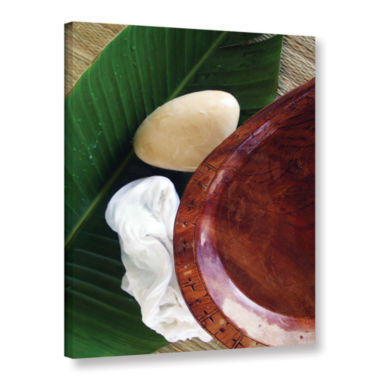 Brushstone Organic Spa Gallery Wrapped Canvas WallArt
