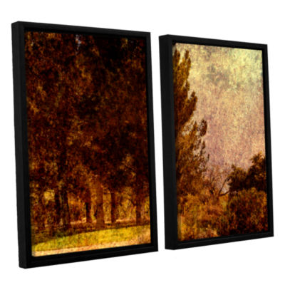 Brushstone Passing 2-pc. Floater Framed Canvas Wall Art