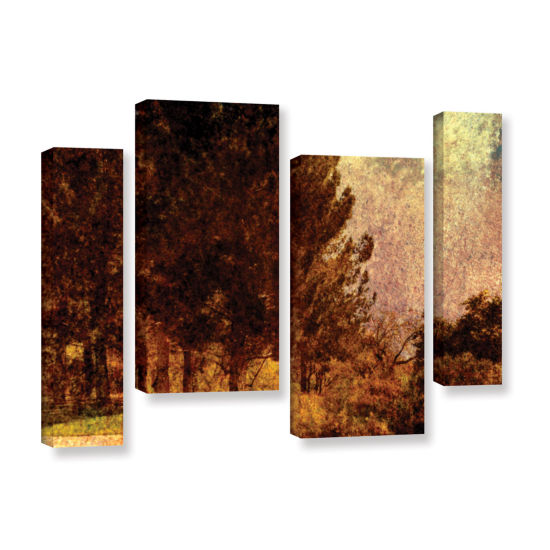 Brushstone Passing 4-pc. Gallery Wrapped StaggeredCanvas Wall Art