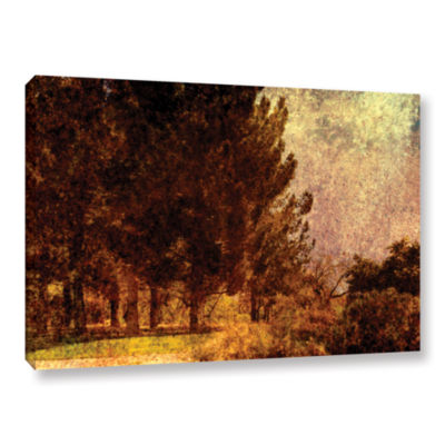 Brushstone Passing Gallery Wrapped Canvas Wall Art