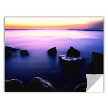 Brushstone Pacific Afterglow Removable Wall Decal