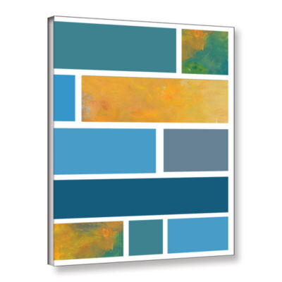 Brushstone Paint Swatches II Gallery Wrapped Canvas Wall Art