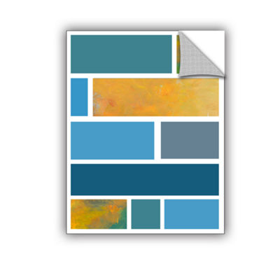 Brushstone Paint Swatches II Removable Wall Decal