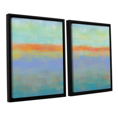 Brushstone Outer Limits 1 2-pc. Floater Framed Canvas Wall Art