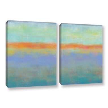 Brushstone Outer Limits 1 2-pc. Gallery Wrapped Canvas Wall Art