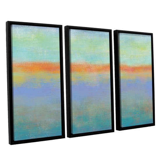 Brushstone Outer Limits 1 3-pc. Floater Framed Canvas Wall Art