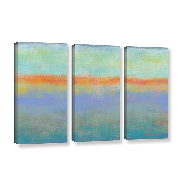 Brushstone Outer Limits 1 3-pc. Gallery Wrapped Canvas Wall Art